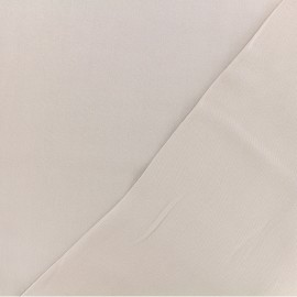 Twill viscose fabric - light taupe x 10 cm