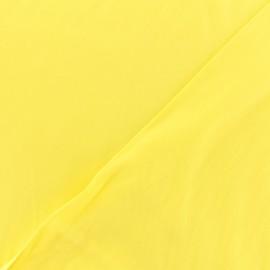 Tissu twill viscose - Jaune x 10 cm
