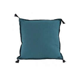 Coussin Portofino 45x45 cm - Bleu Pétrole