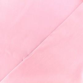 Tissu twill viscose - rose clair x 10 cm