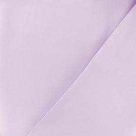 Tissu twill viscose - lilas x 10 cm
