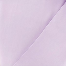 Twill viscose fabric - Lilac x 10 cm
