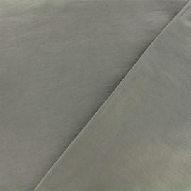 Tissu Bengaline enduit - gris x 10cm