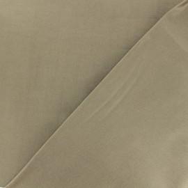 Tissu Bengaline enduit - Taupe clair x 10cm
