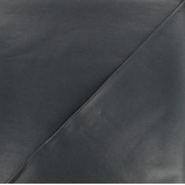 Tissu Bengaline enduit - Gris Taupe x 10cm