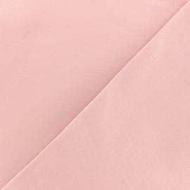 Tissu Bengaline enduit - rose x 10cm