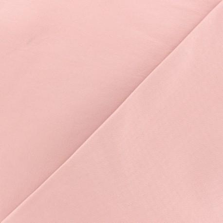 Coated Bengaline fabric - pink x 10cm