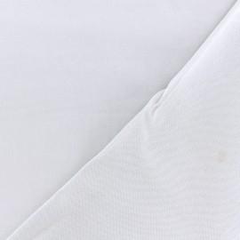 Tissu twill viscose - gris clair x 10 cm