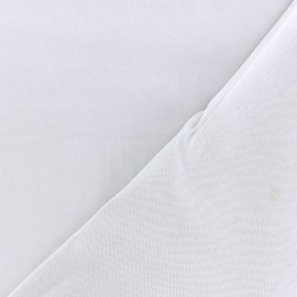 Twill viscose fabric - light grey x 10 cm