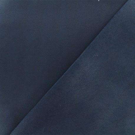 Tissu Néoprène Scuba Chevron - Marine x 10cm