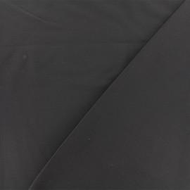 ♥ Only one piece 30 cm X 145 cm ♥ Twill viscose fabric - dark grey