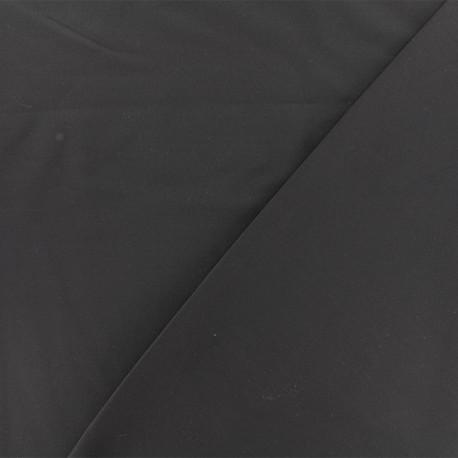 Tissu viscose sergé - gris foncé x 10 cm