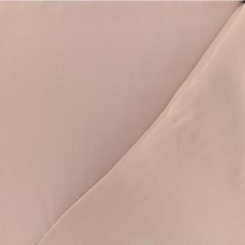 Tissu twill viscose - Vieux rose x 10 cm