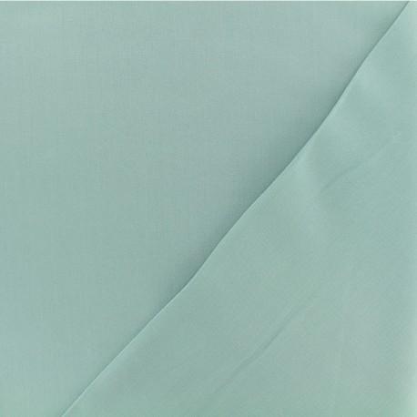 Tissu viscose sergé - Opaline x 10 cm