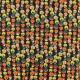 Viscose Fabric - Black Hazelnut passion x 10cm
