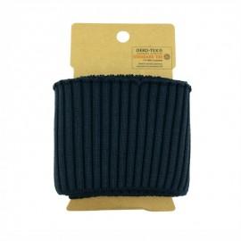Cotton ribbed cuffs  (110x8cm) - Navy Blue
