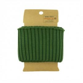 Bord cote coton Oeko-tex (110x8cm) - Kaki