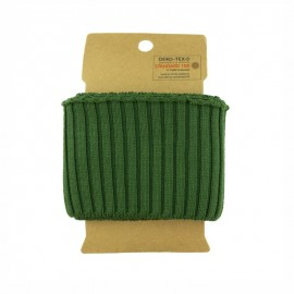 Cotton ribbed cuffs  (110x8cm) - Khaki