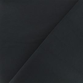 Crepe aspect Neoprene scuba fabric  - Navy blue x 10cm