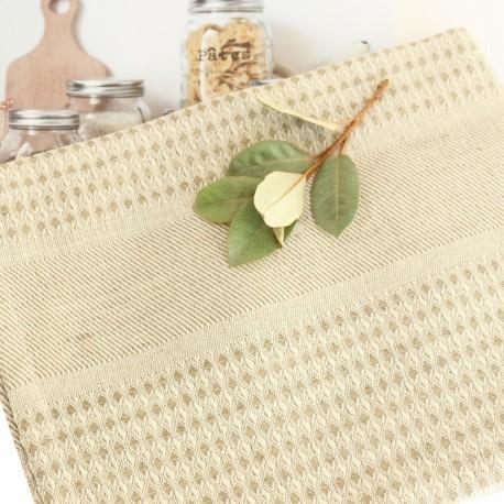 Linen Hand Towel - Natural Montagne Noire