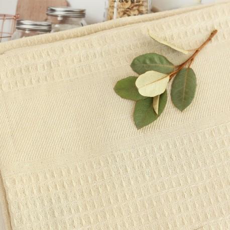 Linen Hand Towel - Ecru Montagne Noire