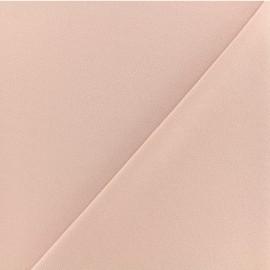Crepe aspect Neoprene scuba fabric - nude x 10cm