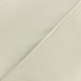 Dark plain Lycra fabric - sand x 10cm