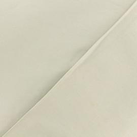 Dark plain Lycra fabric - sand x 10cm