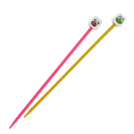 Pony animal knitting needles 18 cm x 4 mm