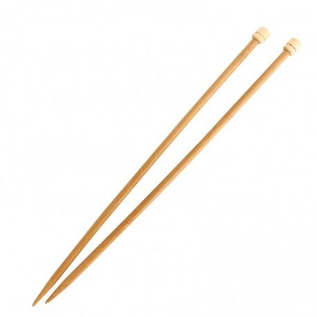 Aiguilles à tricoter en bambou