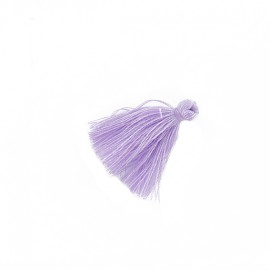 25 Mini Cotton Pom Poms - Lavender