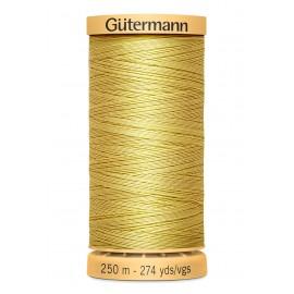 Bobine de Fil à coudre coton naturel Gutermann 250m - N°758
