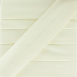 Plain Stretch Bias Binding - Off-White x 1m