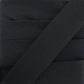Biais Uni Stretch - Marine x 1m
