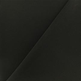Tissu Néoprène Scuba piqué - noir x 10cm