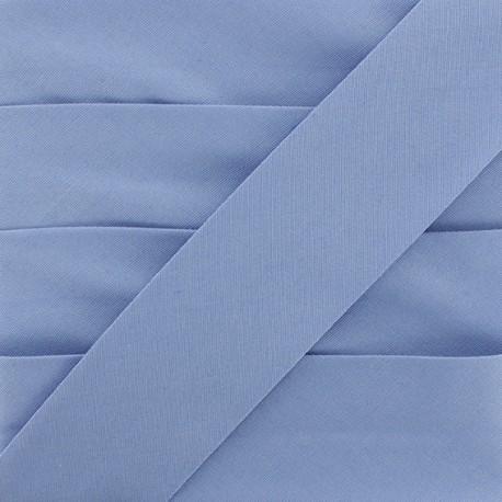 Biais Elastique Uni - Bleu x 1m