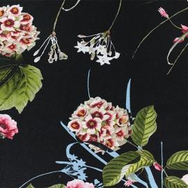 Viscose Fabric - Black Esteva x 10cm