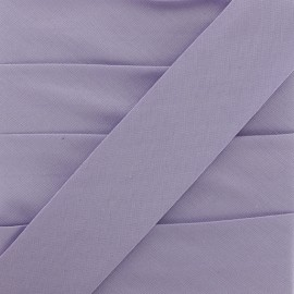Plain Stretch Bias Binding - Lilac x 1m