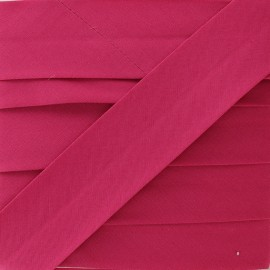 Plain Stretch Bias Binding - Fuchsia x 1m
