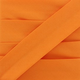 Plain Stretch Bias Binding - Orange x 1m