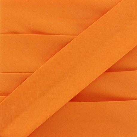 Biais Elastique Uni - Orange x 1m