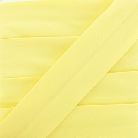 Plain Stretch Bias Binding - Yellow x 1m