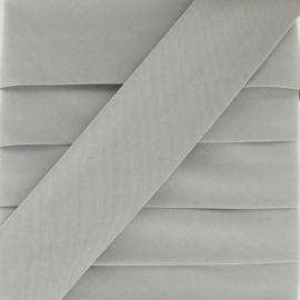 Biais Elastique Uni - Gris Souris x 1m