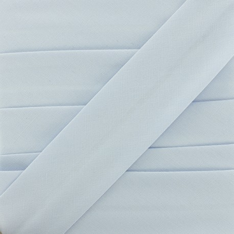 Plain Stretch Bias Binding - Sky Blue x 1m