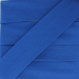 Biais Elastique Uni - Bleu Roi x 1m