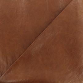 Simili cuir frappé Paolo - cognac x 10cm