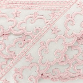 Embroidery Ribbon - Pink Cloud x 1m