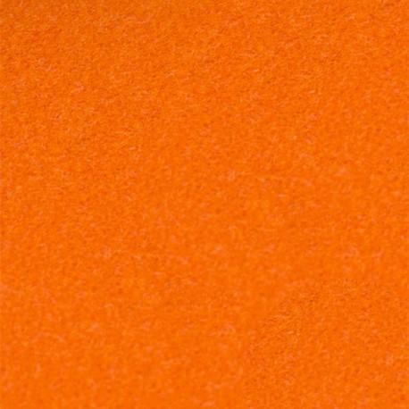 Velvet Fusible fabric - orange x 10 cm