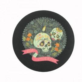Thermocollant Dia Muertos Mexico - Noir