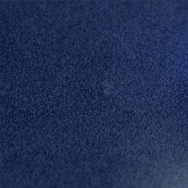 Tissu thermocollant velours - Bleu x 10 cm